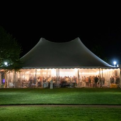 Soiree tent at Darden