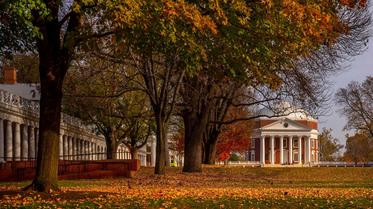 Rotunda on UVA Lawn