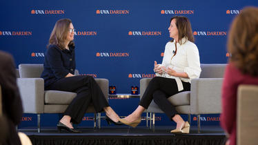 'Understand the Risk of Not Taking the Risk:' Jean Case Kicks Off New UVA Darden Speaker Series With Pitch to 'Be Fearless'